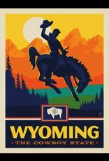 Posters Wyoming State Pride 11x14 Print
