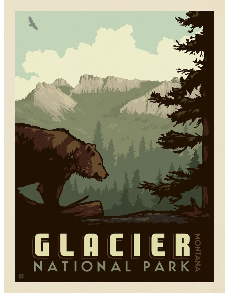 Prints Glacier National Park 11x14 Print