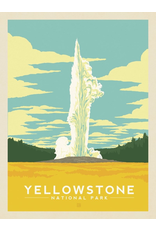 Prints Yellowstone National Park Old Faithful 11x14 Print