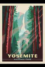 Prints Yosemite National Park Waterfall 11x14 Print