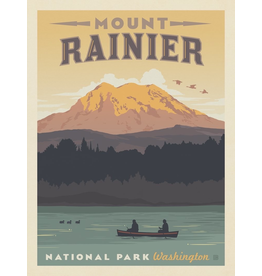 Prints Mount Rainier National Park 11x14 Print