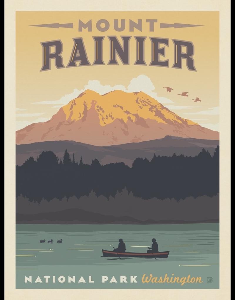 Prints Mount Rainier National Park 11x14 Print