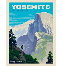 Prints Yosemite National Park Half Dome Vista 11x14 Print