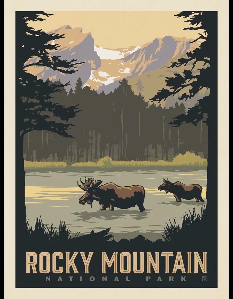 Prints Rocky Mountain National Park Sprague Lake 11x14 Print