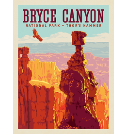 Posters Bryce Canyon National Park Thor's Hammer 11x14 Print