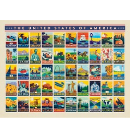 Posters 50 United States 18x24 Poster