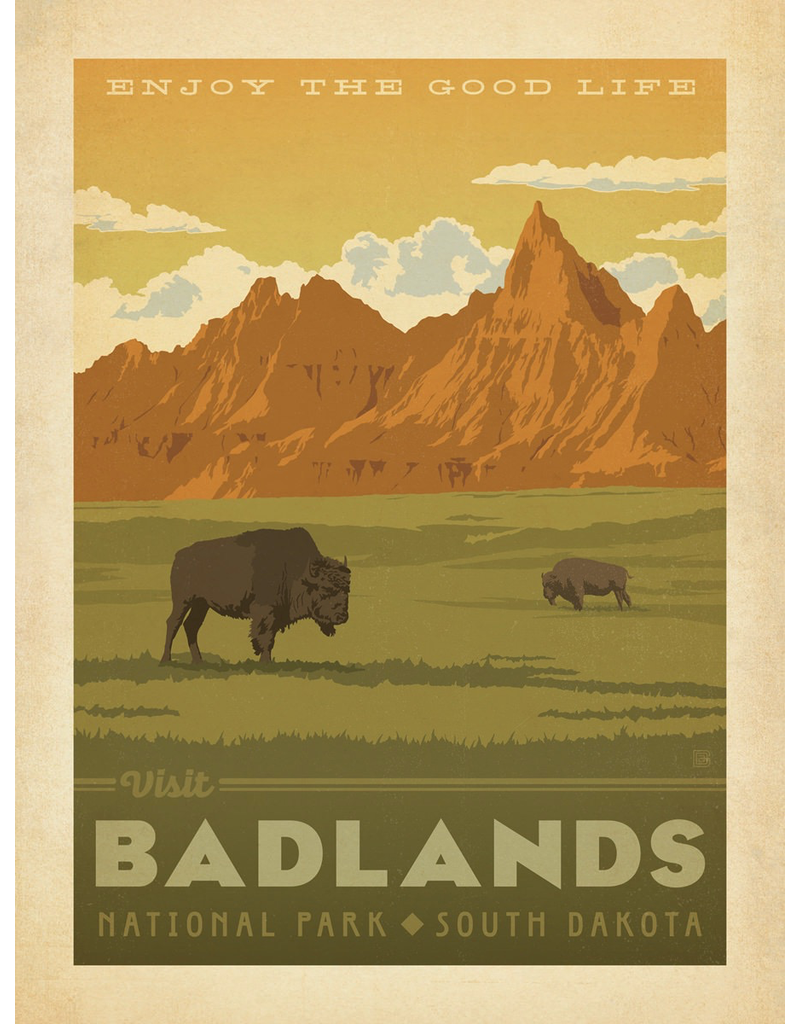 Prints Badlands National Park 18x24 Poster