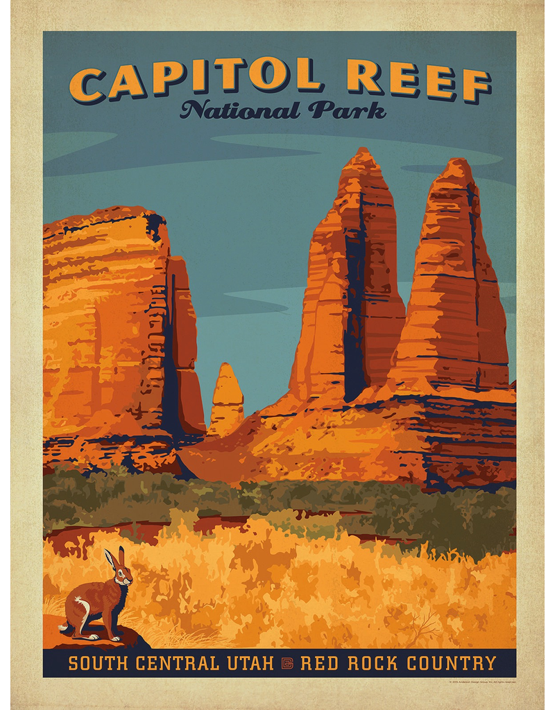 Prints Capitol Reef National Park 18x24 Poster