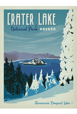Prints Crater Lake National Park 18x24 Poster