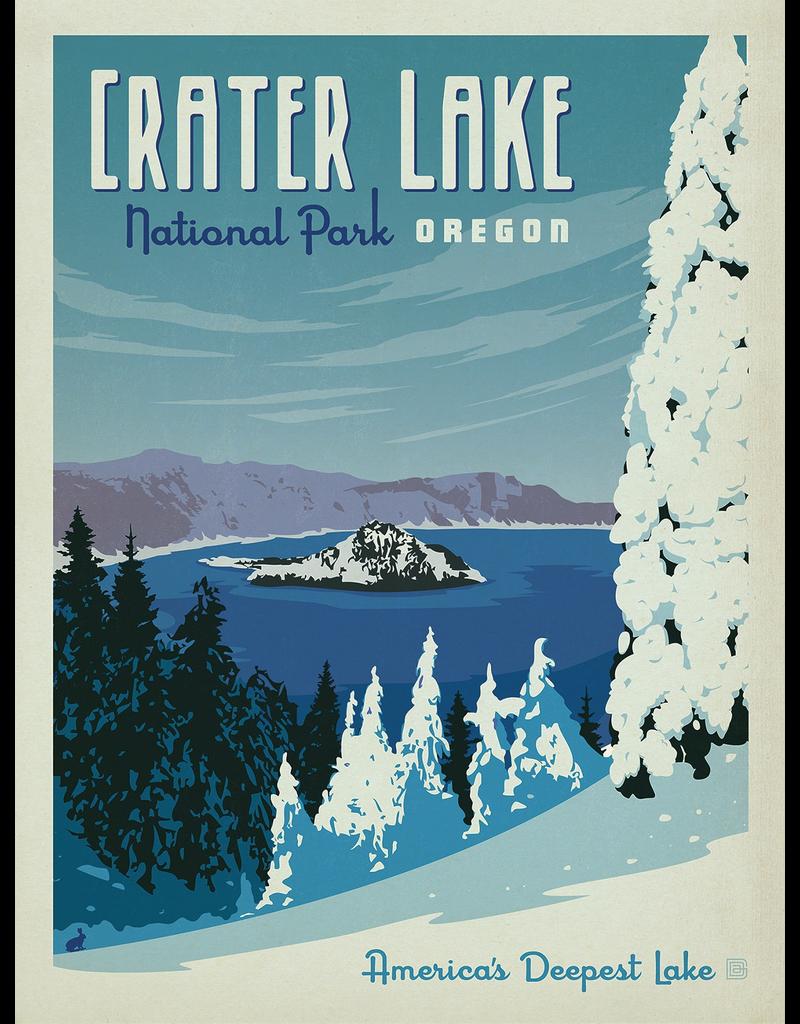 Prints Crater Lake National Park 18x24 Poster