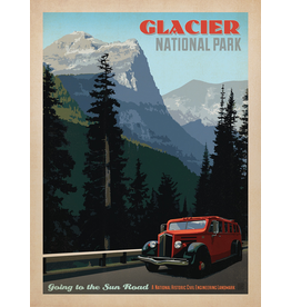 Prints Glacier National Park Sun Road 18x24 Poster