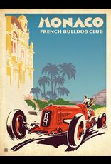 Prints Monaco French Bulldog Club 18x24 Poster