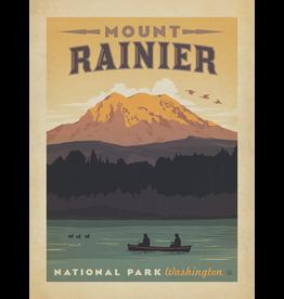 Prints Mount Rainier National Park 18x24 Poster