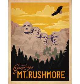 Prints Greetings From Mt. Rushmore 18x24 Poster