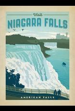 Prints Visit Niagara Falls 18x24 Poster