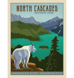 Prints North Cascades National Park 18x24 Poster