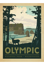 Prints Olympic National Park 18x24 Poster