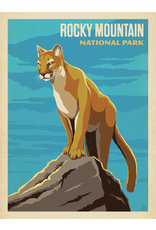 Prints Rocky Mountain National Park Cougar 18x24 Poster