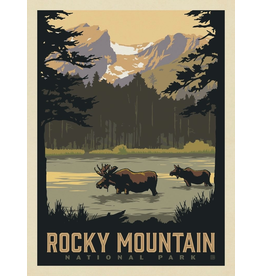 Prints Rocky Mountain National Park Sprague Lake 18x24 Poster