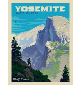 Prints Yosemite National Park Half Dome Vista 18x24 Poster