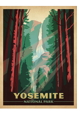 Prints Yosemite National Park Waterfall 18x24 Poster