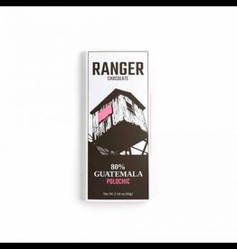 Chocolate Ranger Chocolate Polochic 80% Cacao