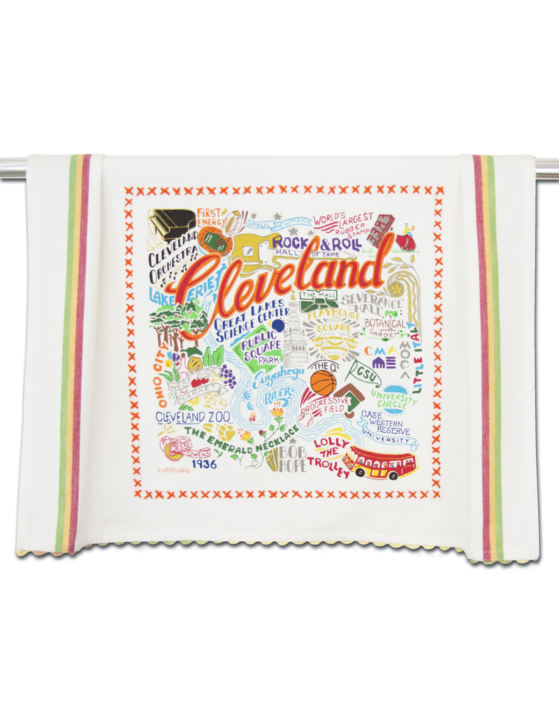 Dish Towels Cleveland Dish Towel