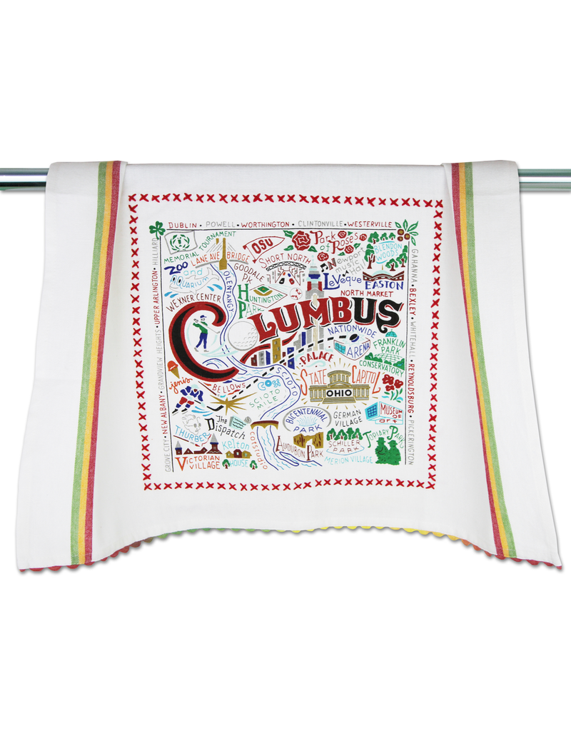 Dish Towels Columbus Dish Towel