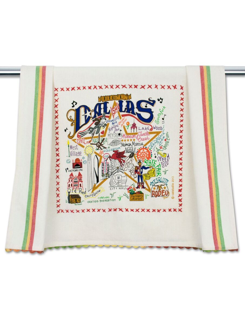 Dish Towels Dallas Dish Towel