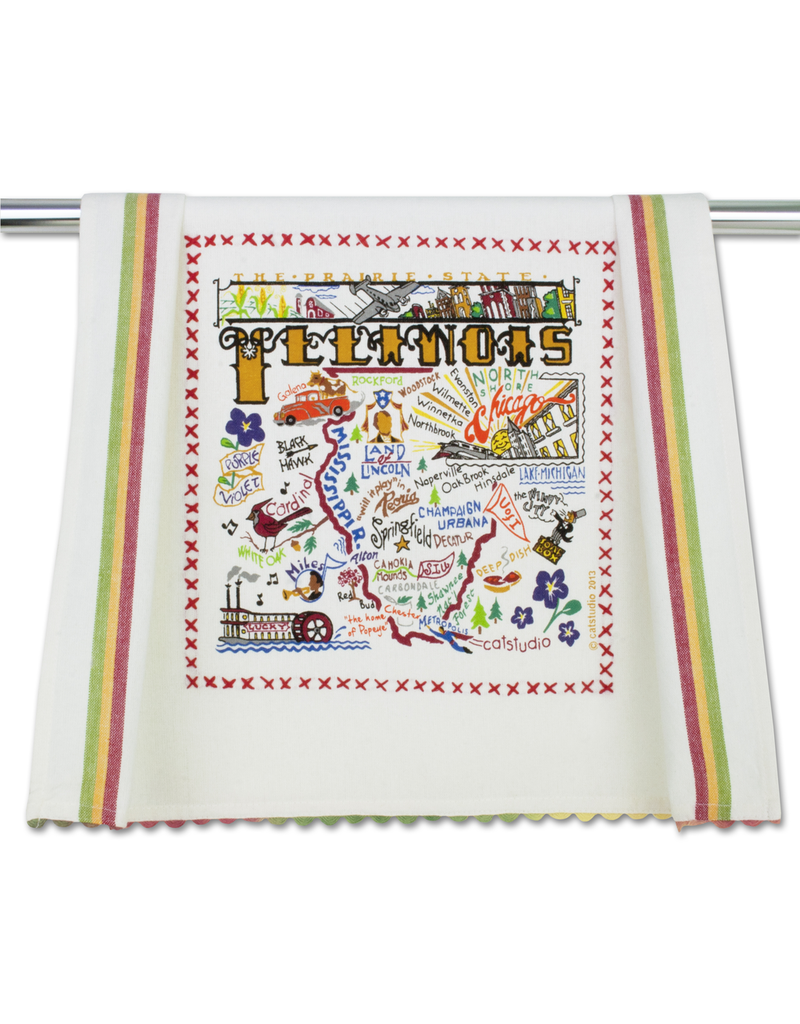 Dish Towels Illinois Dish Towel