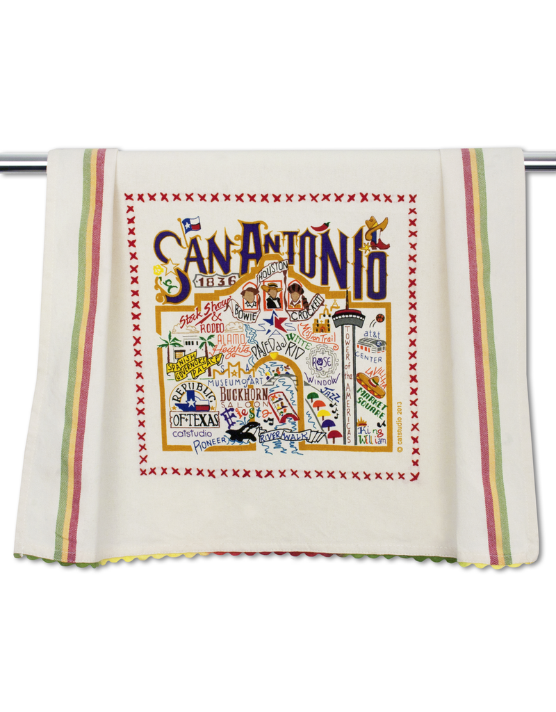 Dish Towels San Antonio Dish Towel