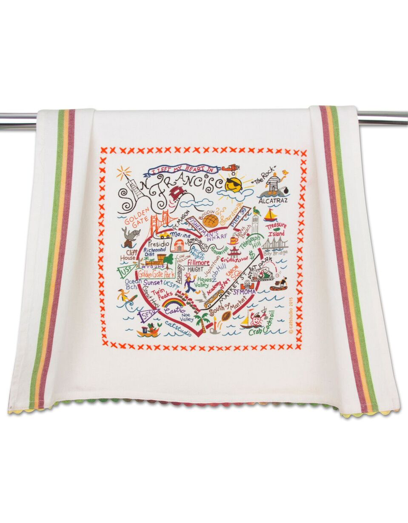 Dish Towels San Francisco Dish Towel