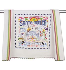 Dish Towels Santa Monica Dish Towel