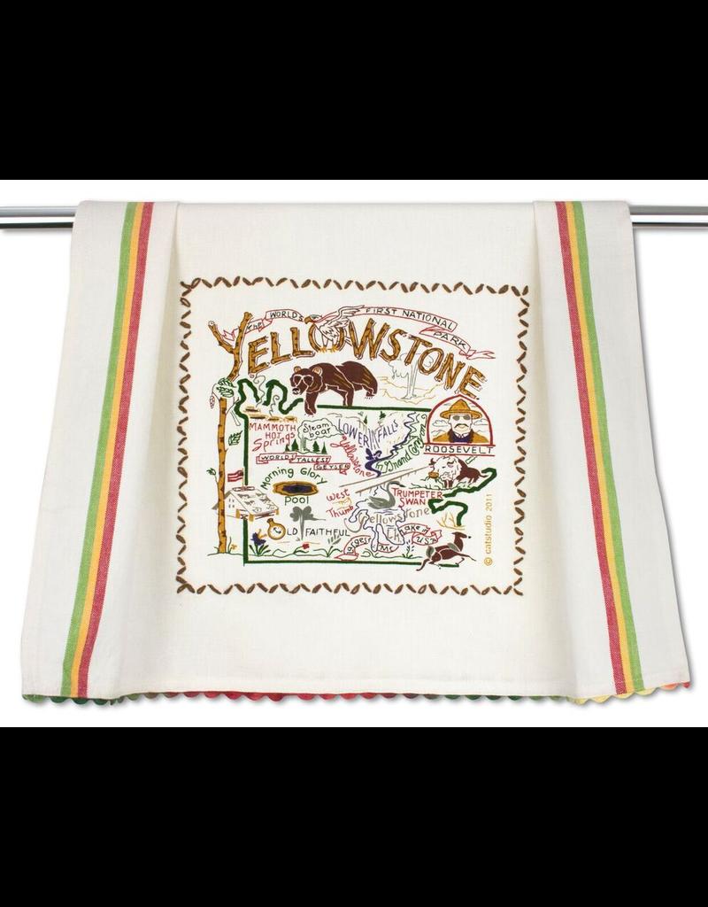 Dish Towels Yellowstone National Park Dish Towel