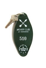 Keychains Archery Club Key Tag