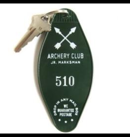 Keychains Archery Club Key Tag
