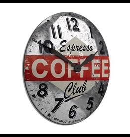 Clocks Convex Coffee Wall Clock