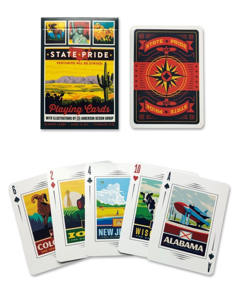 Playing Cards State Pride Playing Cards
