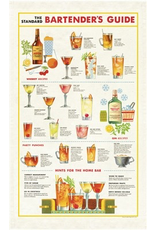 Tea Towels Bartender's Chart Tea Towel