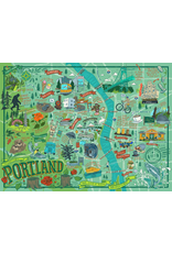 Puzzles Portland Illustrated Puzzle