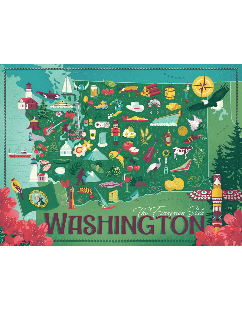 Puzzles Washington State Puzzle