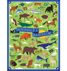 Puzzles Animals of No America Puzzle