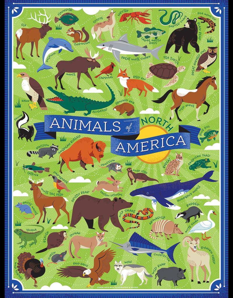 Puzzles Animals of No America Puzzle