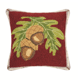 Pillows - Hooked Lodge Acorn Pillow