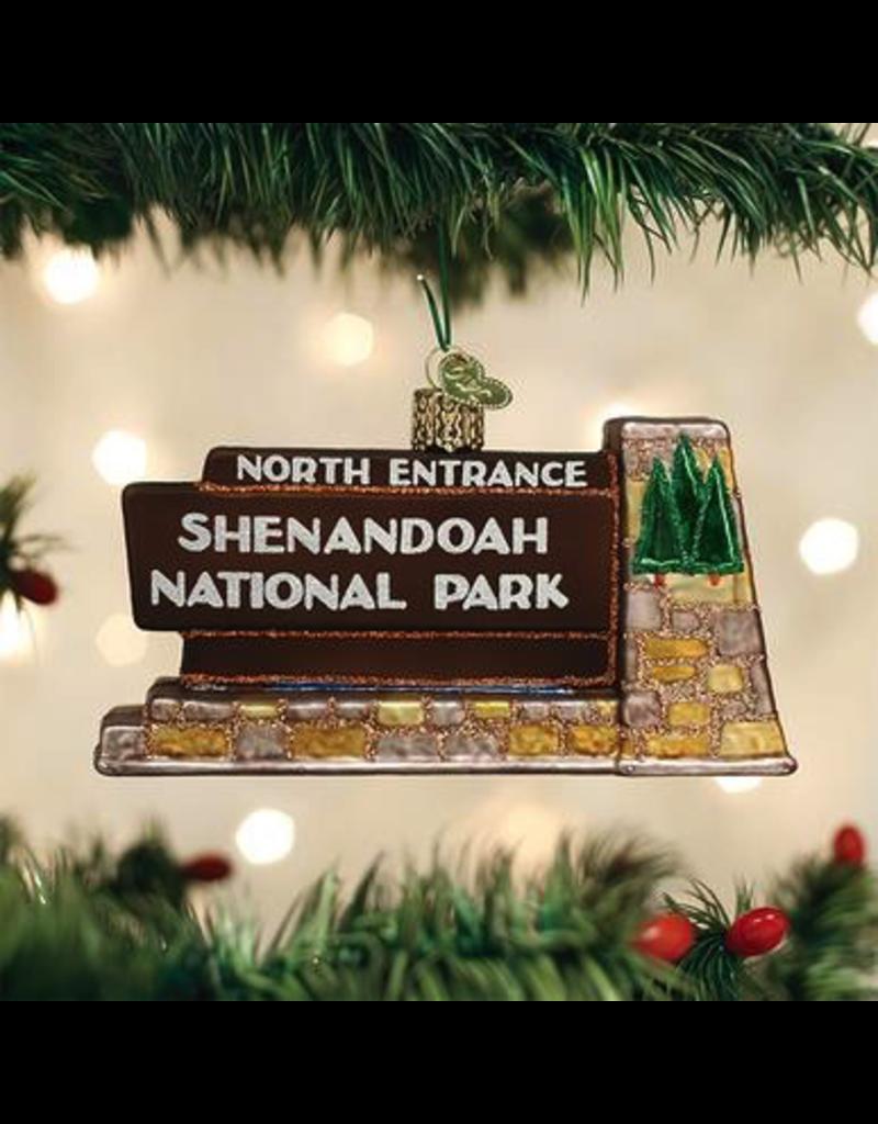 Ornaments Shenandoah National Park Ornament