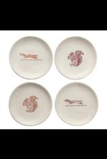 Serveware Squirrel Appetizer Plates