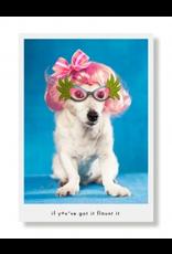 Greeting Cards Bibi Girlfriend Birthday Card