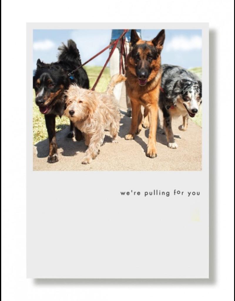 Greeting Cards - General Sam, Murphy, Nitro & Zeus Encouragement Card
