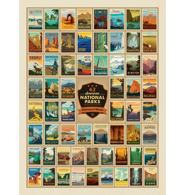 Prints 61 National Parks 18x24 Poster