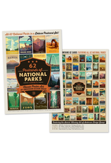 Postcards National Parks Postcard Set